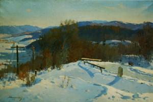 Перевал, 1954, п.о. 85х15