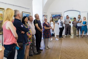 PERSONAL JUBILEE EXHIBITION OF VASYL DUB IN MUKACHEVO