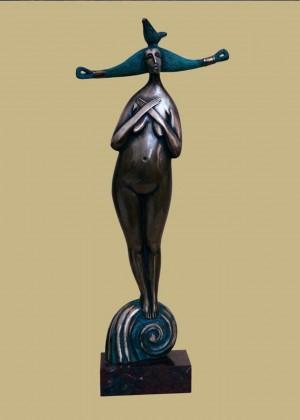'Song', 2002, bronze