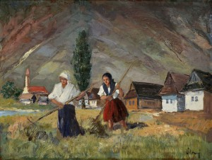 'During The Work', 1935, oil on cardboard, 50x65.jpg