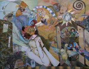Dawn, 2009, 80x100