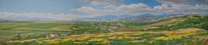 Панорама Ужгорода, 2013, 60х270