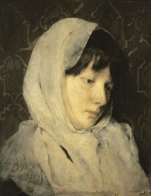 Portrait Of A Girl, 1885