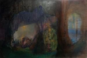 Pedestal', 2009, 143x189