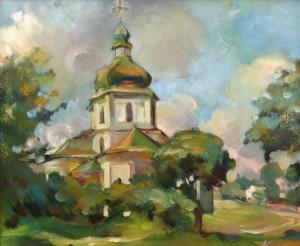 Храм. Седнів, 2003. п.о., 50х60