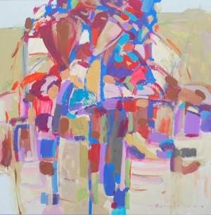 Серія Етнічні портрети, 2015, п.акр., 90х80