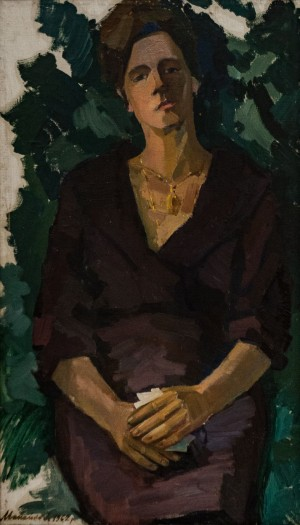 'Portrait Of Daughter-In-Law Irma', 1962, oil on canvas
