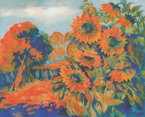 Серпнева спека, 2008, 60х70