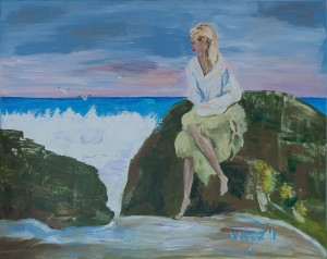 V. Olehash 'A Girl Near The Sea'