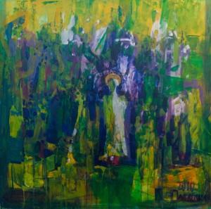 Смарагдове місто, 2010, п.о., 80х80