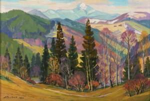 Mountains In Autumn, 1990