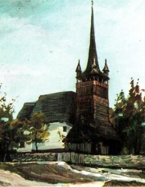 Євангельська церква с.Дюла, 1989, 60х50