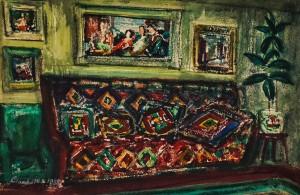 Інтер`єр кімнати, 1958