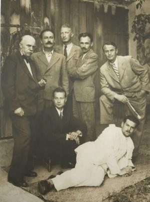 Y. Bokshai, F. Manailo, A. Kotska, V. Svyda, A. Erdeli, E. Kontratovych, P. Petki, mid. of 1940