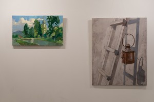 "Uzhhorod art studio ""Nebo"" presents the works of Eduard Prykhodko and Oleksii Fedor"