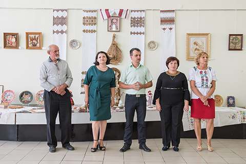"""TO YOU, MY UKRAINE""–EXHIBITION OF COMPOSITIONS OF DECORATIVE AND APPLIED ARTS OF THE ARTISTS OF THE REGION"