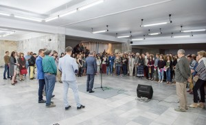 A GRANDIOSE ART PROJECT SHOW PROMISE IS OPENED IN LVIV