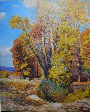Autumn, 1945, oil on canvas, 120x100