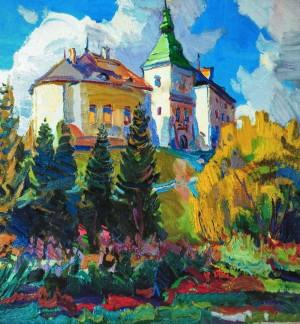 Олеський замок, 2010, п.о., 90х80