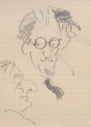 Дружній шарж (Брессгауер), 1930-1950-ті рр.