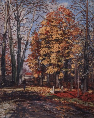 Autumn, 1958, oil on canvas,