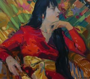 Олександра, 2008, п.о., 60х70