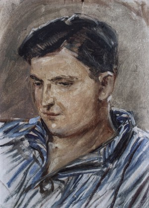 Pavlo, 1950s, oil on canvas, 50x30