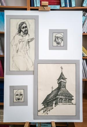 GRAPHICS OF HEORHII LEVADSKYI WAS PRESENTED IN UZHHOROD