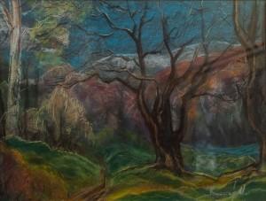 'Evening', 2016, 70x50