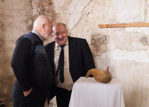 TRANSCARPATHIAN SCULPTOR-CERAMIST ENDRE HIDI PRESENTED THE EXHIBITION OF HIS WORKS