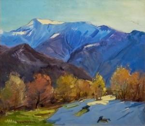 V. Brenzovych 'Pip Ivan (Maramures) Mountain', 2017