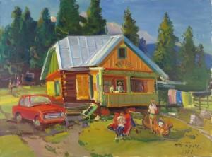 High Tatras, 1978, oil on canvas, 61x81