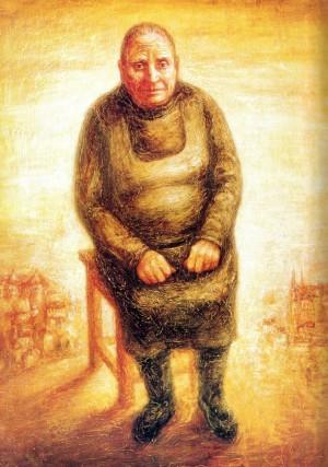 Бабуся Йолика з Мукачева, 1987, п.о.темп., 130х100