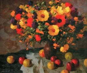 Квіти,  2005, 85х110