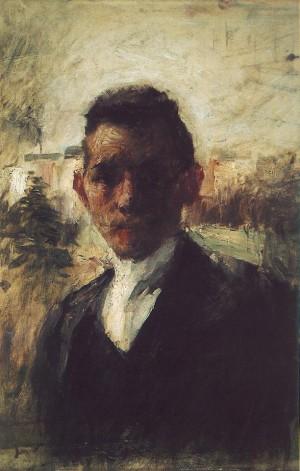 Portrait Of Gyula Kosztolanyi Kann, before 1897