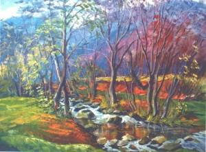 Autumn, 2013, oil on canvas, 60х70