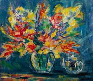 'Осінні барви', 2013, п.о., 90х80