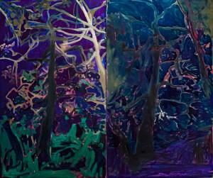 'Ліс', 2013, 100х60
