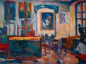 Майстерня художника, 2006, п.о., 80х100