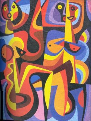 Пісня, карт.о., 1988, 66х54.