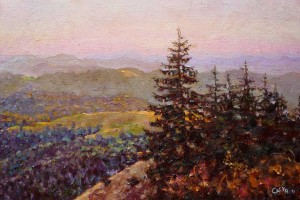 In the Mountains, 2011, 60x40