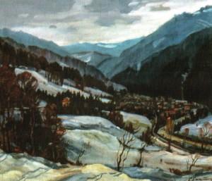 Жорнава взимку, 1983, 70х80