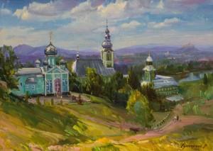 Мукачівський монастир, 2010, 75х105