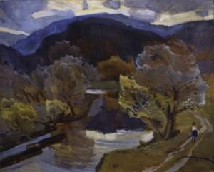 Пізня осінь, 1972, п.о. 85х100