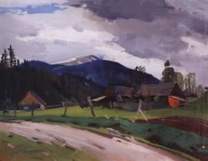 Після дощу, поч. 1960-х, п.о. 55х70