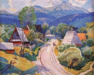По селу, 1976, п.т. 100х120