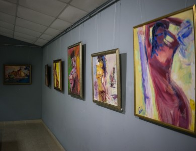 "EXHIBITION HALL ""IMPASTO"" IN VYNOHRADIV"