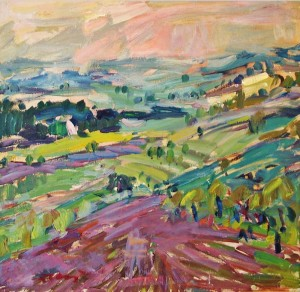 Landscape, 1976, oil on canvas