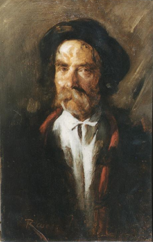 Portrait Of An Old Polish Peasant
