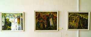 Jubilee exhibition of works by Vasyl Filesh
